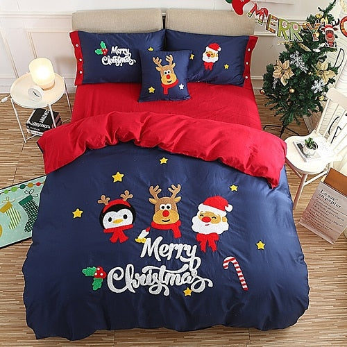 Christmas New Year Bedding set - HeadlineBedding
