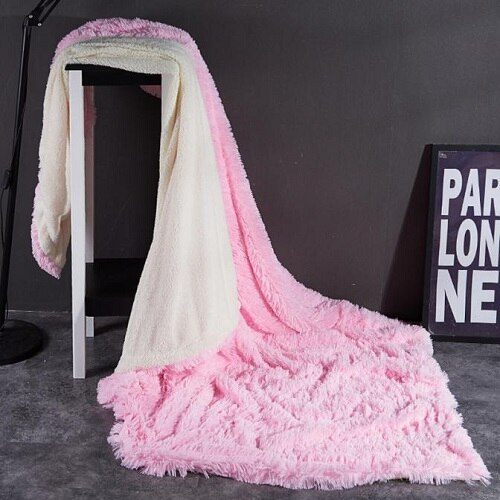 Fleece Fur Throw Blanket