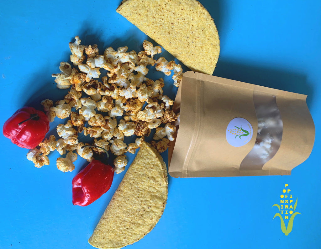 Vegan Spicy Taco Popcorn