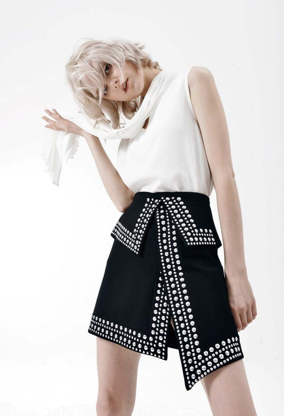 Naomi Asymmetrical Skirt