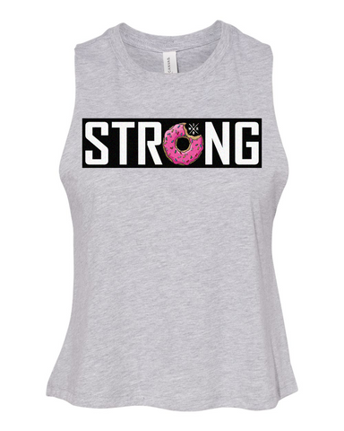Donut strong crop tank
