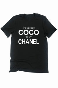 Black Coco Black Graphic Tee