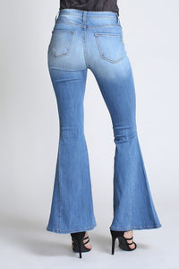 Ring My Bell Mid-Rise, Stretchy Jeans