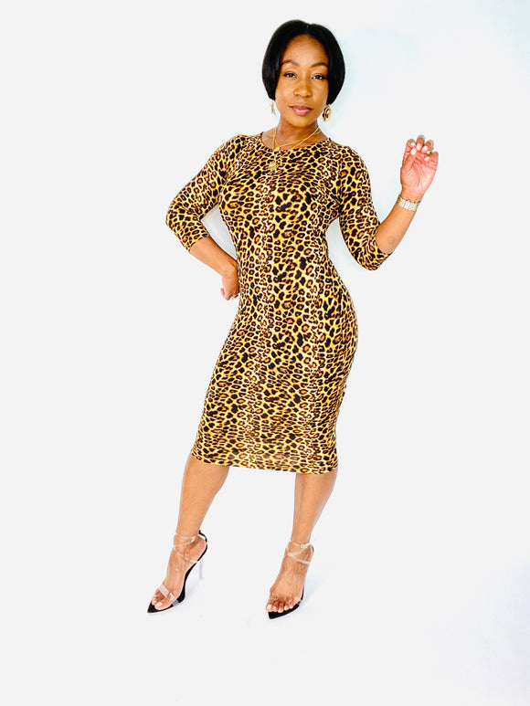 No Cheetas Allowed Dress