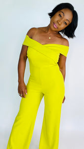 A Hint Of Lime Jumpsuit