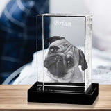 Crystal Portrait For Pet Lovers - For Dogs & Cats Lovers