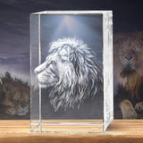 Lion 3D Crystal