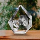Personalized 3D Christmas photo crystal gift – Christmas Prestige