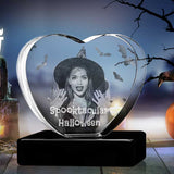 Halloween Heart - The best 3D crystal gifts in the world!