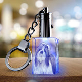 2D Photo Crystal Keychain - Rectangle - The best 3D crystal gifts in the world!