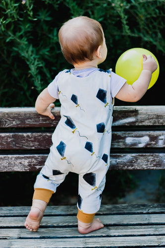 Organic Baby Clothes - Kites Baby Boy Romper