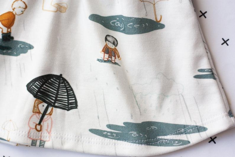 organic cotton baby clothes - puddle dress