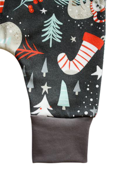 Christmas Outfit - Organic Baby Romper