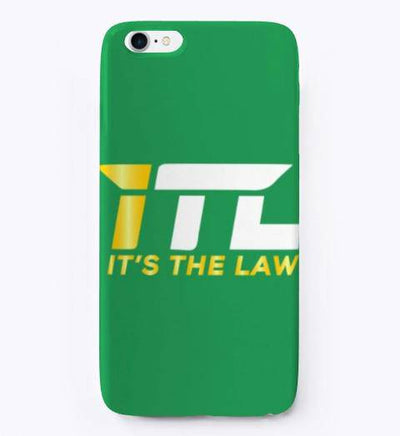It's The Law IPhone Case - Bossladys Boutique