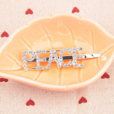 Bling Letter Hairpins - Bossladys Boutique
