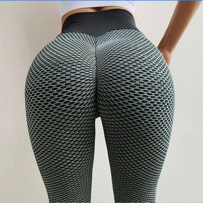 NORMOV Seamless Fitness Women Leggings Fashion Patchwork Print High Waist Elastic Push Up Ankle Length Polyester Leggings - Bossladys Boutique