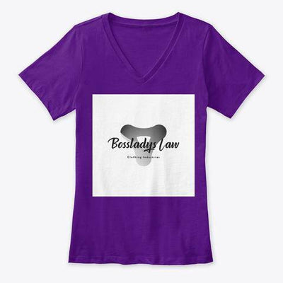 Bossladys law clothing industries V-neck - Bossladys Boutique