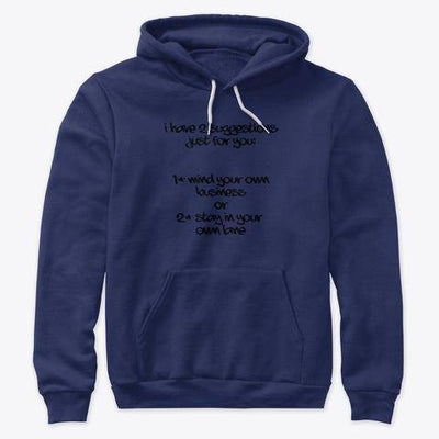 2 Suggestions Hoodie - Bossladys Boutique