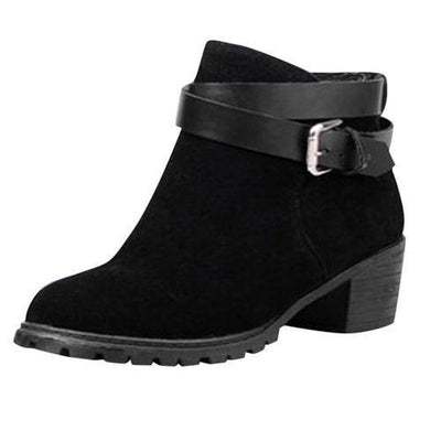 Women's Short Ankle Boots Snow Warm Boots - Bossladys Boutique