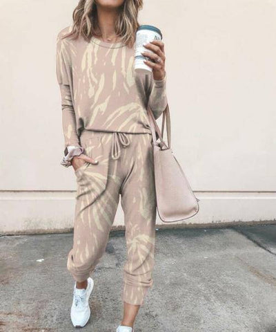 Autumn Winter Long Sleeve Shirt And Long Pants - Bossladys Boutique