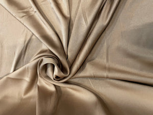 CREPE ENVERS SATIN OR