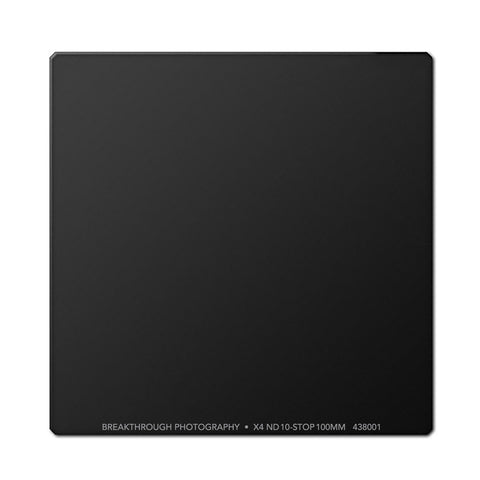 Breakthrough Photography 100mm X4 ND Square 10-stop Filter