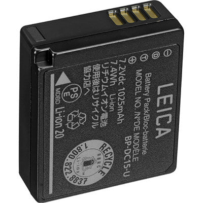 Leica BP-DC15E-U Battery for D-Lux (Typ 109) & C-LUX