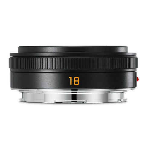 Leica Elmarit-TL 18mm f/2.8 ASPH, black anodized