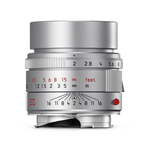 Leica APO-Summicron-M 50mm f/2.0 ASPH, silver anodized finish