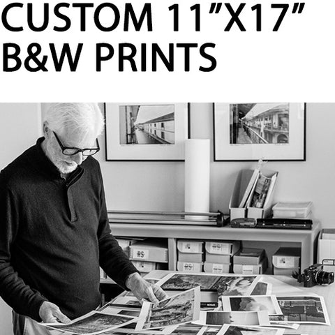 "Custom 11""x17"" Black & White Pigment Prints by Richard Sexton"