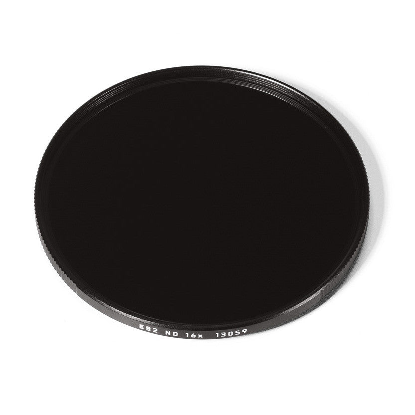 Leica E82 ND 4-Stop 16x Filter, Black