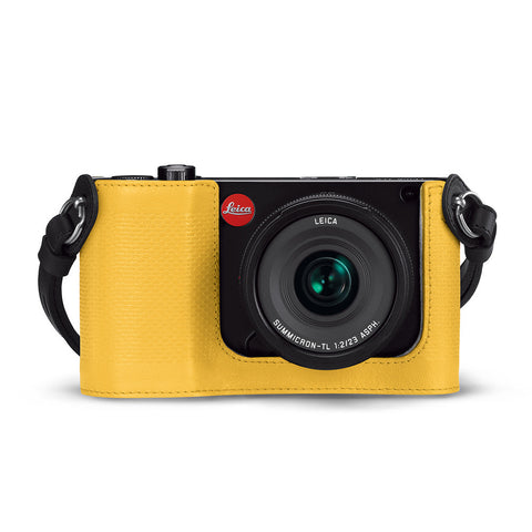 Leica Protector - TL, leather, yellow