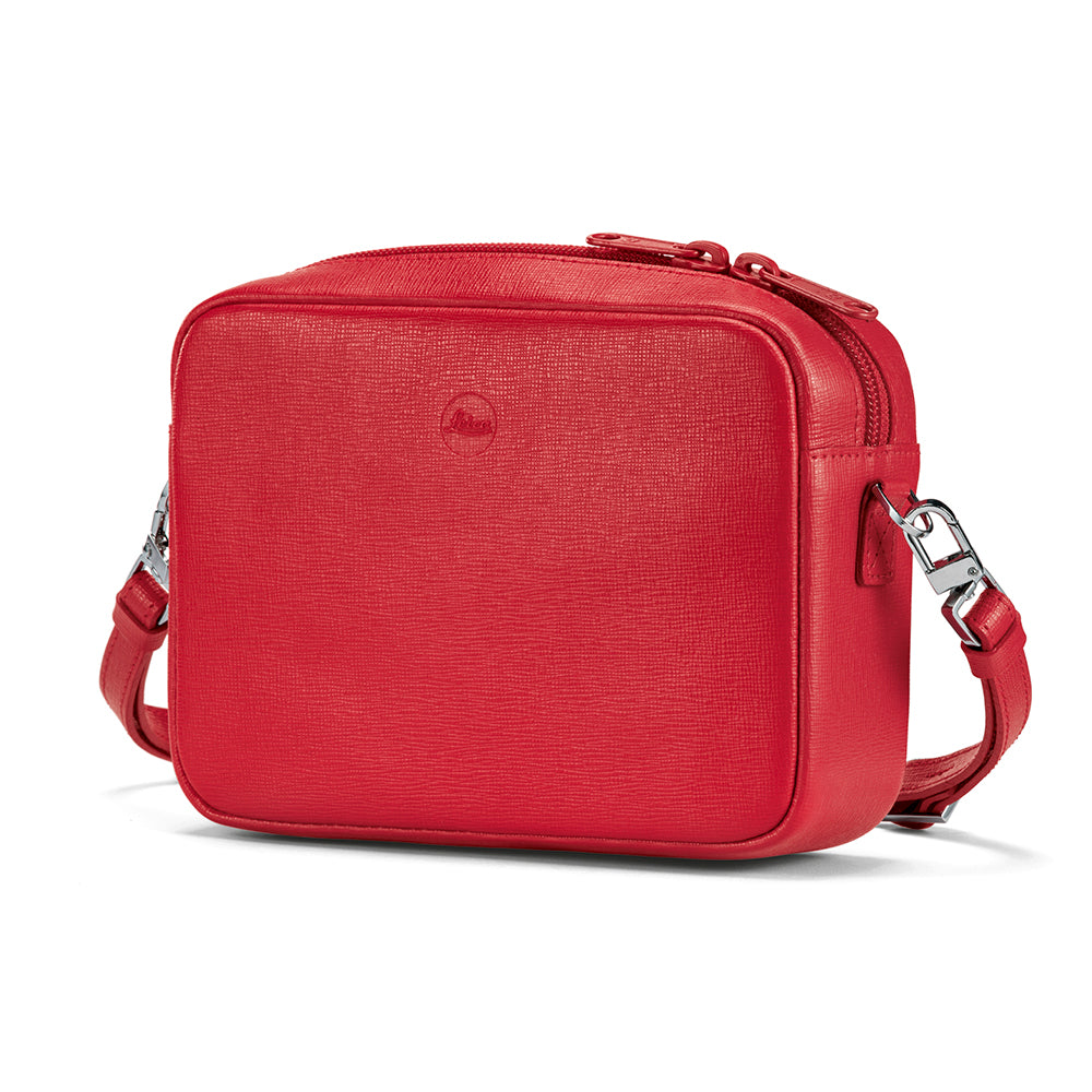 Leica C-Lux Andrea Leather Handbag, Red