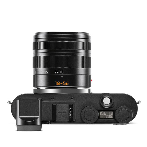 Leica CL Vario Bundle, Black with Vario-Elmar-TL 18-56mm