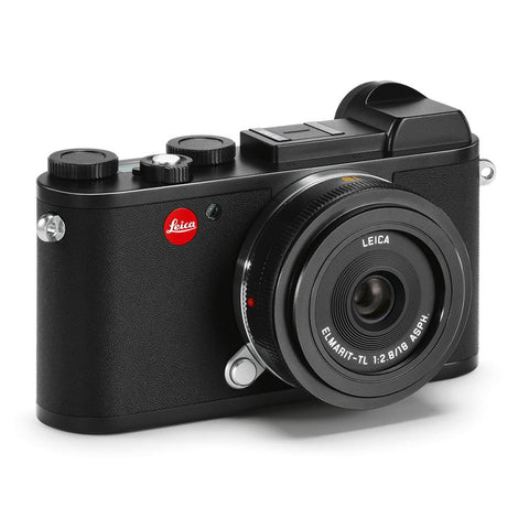Leica CL Starter Bundle, Black with Elmarit-TL 18mm