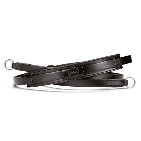 Leica Neck Strap Vintage, leather, black