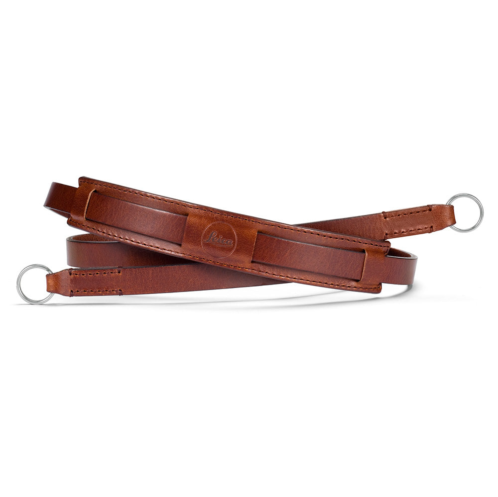 Leica Neck Strap Vintage, leather, brown