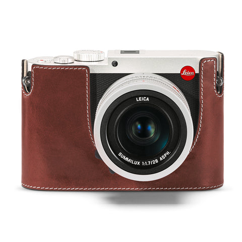 Leica Protector Q (Typ 116), Vintage Brown Leather
