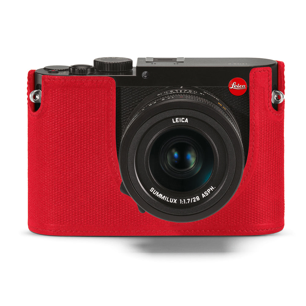 Leica Protector Q (Typ 116), Red Leather