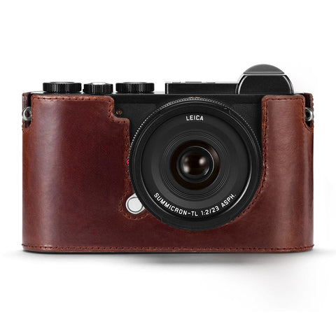 Leica CL Camera Protector, leather, brown
