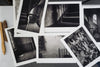 "Portfolio Box of 20 Custom 8.5""x11"" Black & White Pigment Prints by Richard Sexton"
