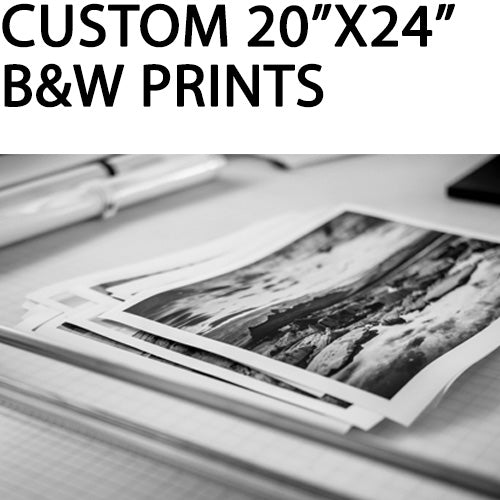 "Custom 20""x24"" Black & White Pigment Prints by Richard Sexton"