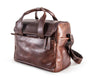 Harold's Lederwaren - 2in1 Leather Camera Bag, Medium, Brown