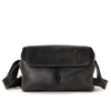 Harold's Lederwaren - 2in1 Leather Camera Bag, Small, Black