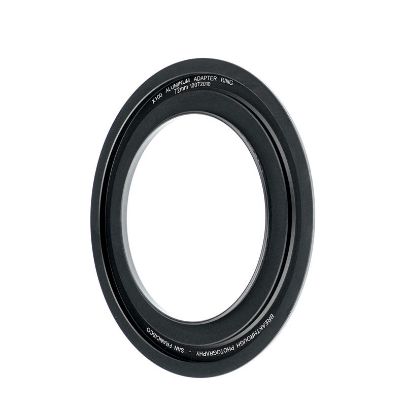 Breakthrough Photography 72mm aluminum adapter ring for square filters