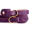 Artisan & Artist* ACAM 276 Leather Strap - Purple