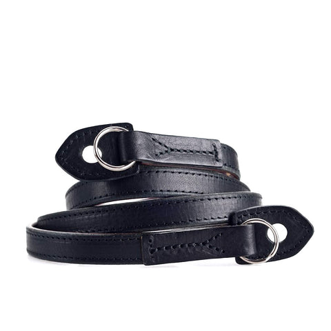 Artisan & Artist* ACAM 280 Leather Padded Strap-Black