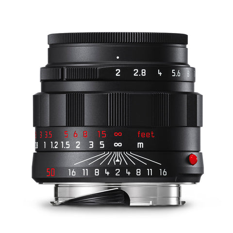 Leica APO-Summicron-M 50mm f/2 ASPH, black chrome finish