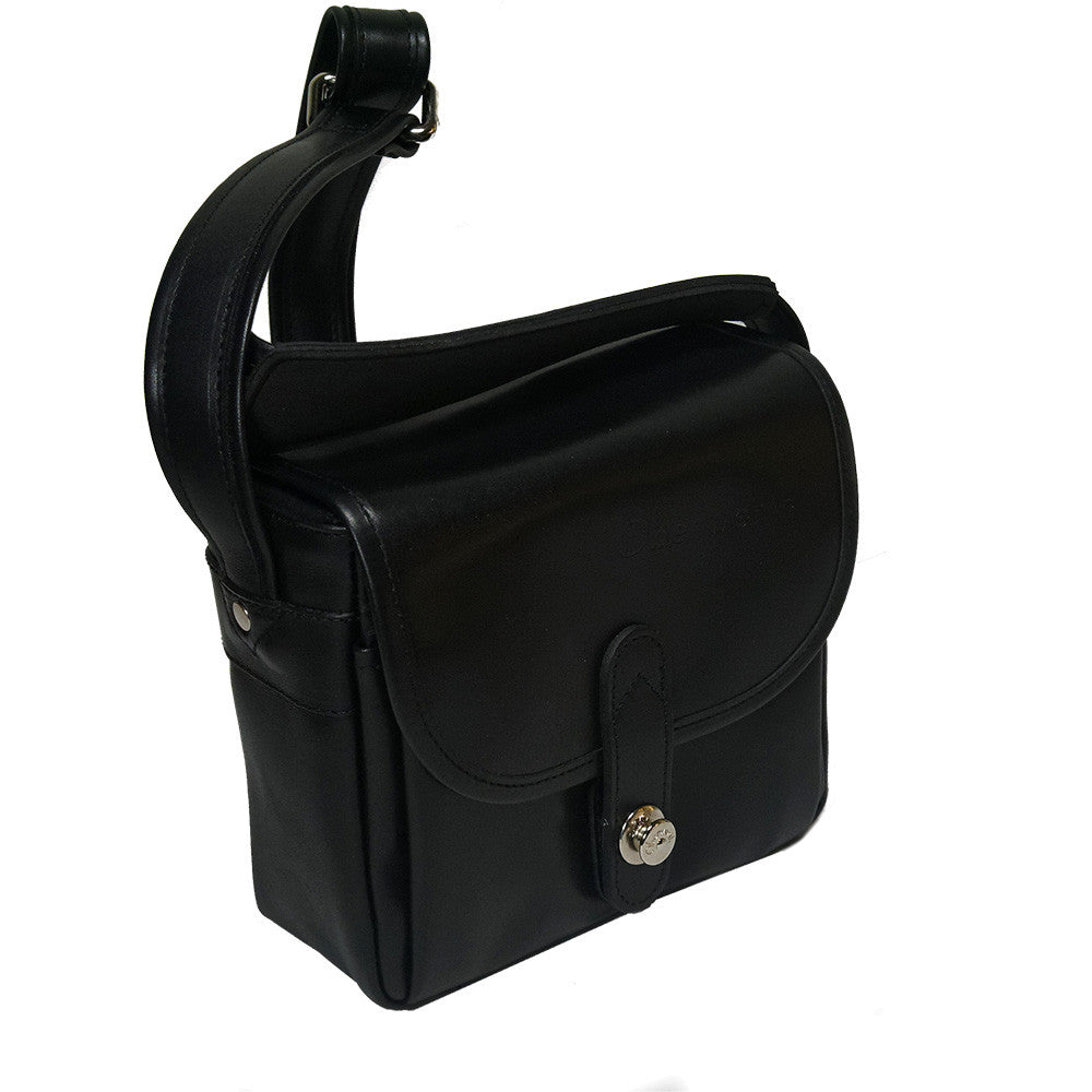 Oberwerth Bayreuth Small Leather Photo Bag - Black