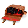 ONA Berlin II - Leica Edition, M-System Leather Camera Bag - Vintage Bourbon